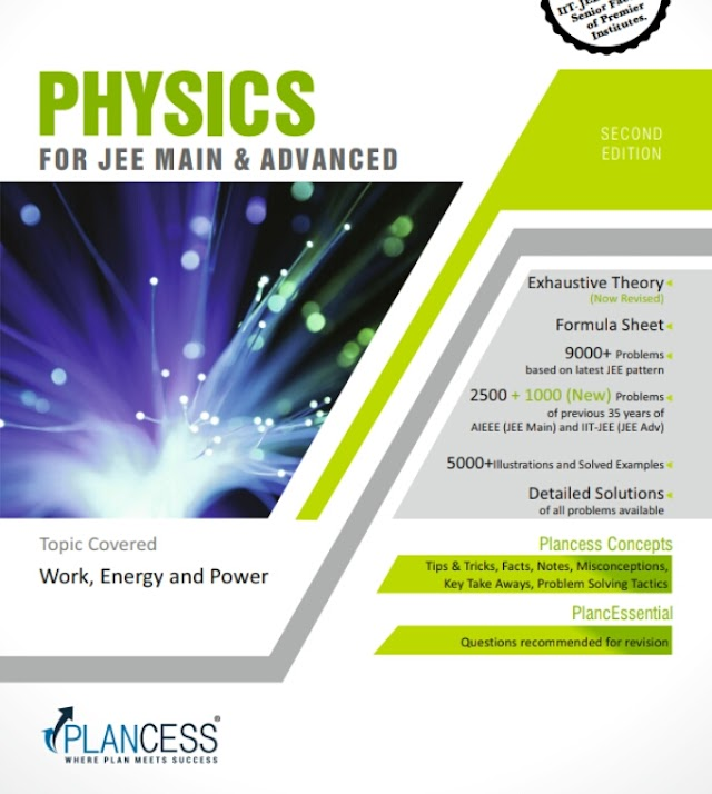 WORK ENERGY AND POWER NOTE BY PLANCESS