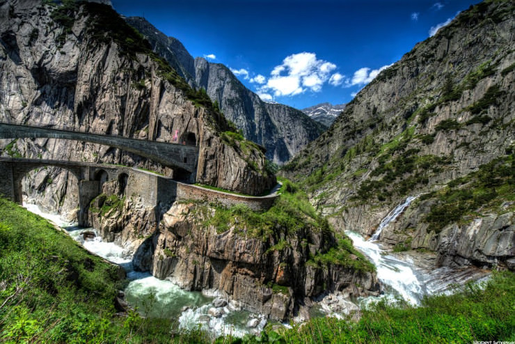 Top 10 Fun Things to See and Do in Switzerland - Discover Devil's Bridge in Andermatt
