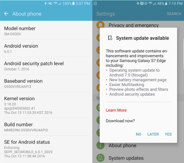 download android nougat 70 rom part 1