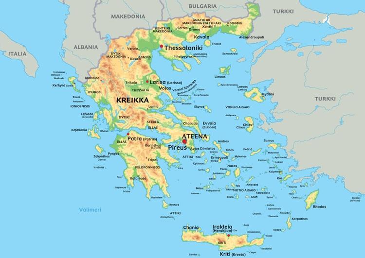 Kreikan Kartta Suomeksi Internet Ja Tietokoneet