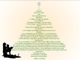 Árbol de Navidad con mensaje positivo