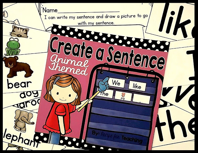 https://www.teacherspayteachers.com/Product/Create-a-Sentence-FREE-Animal-Themed-2449702