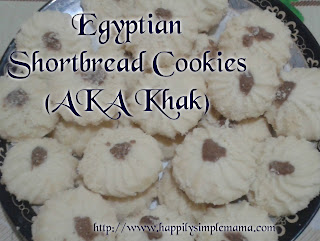 Egyptian Shortbread Cookies (AKA Khak)