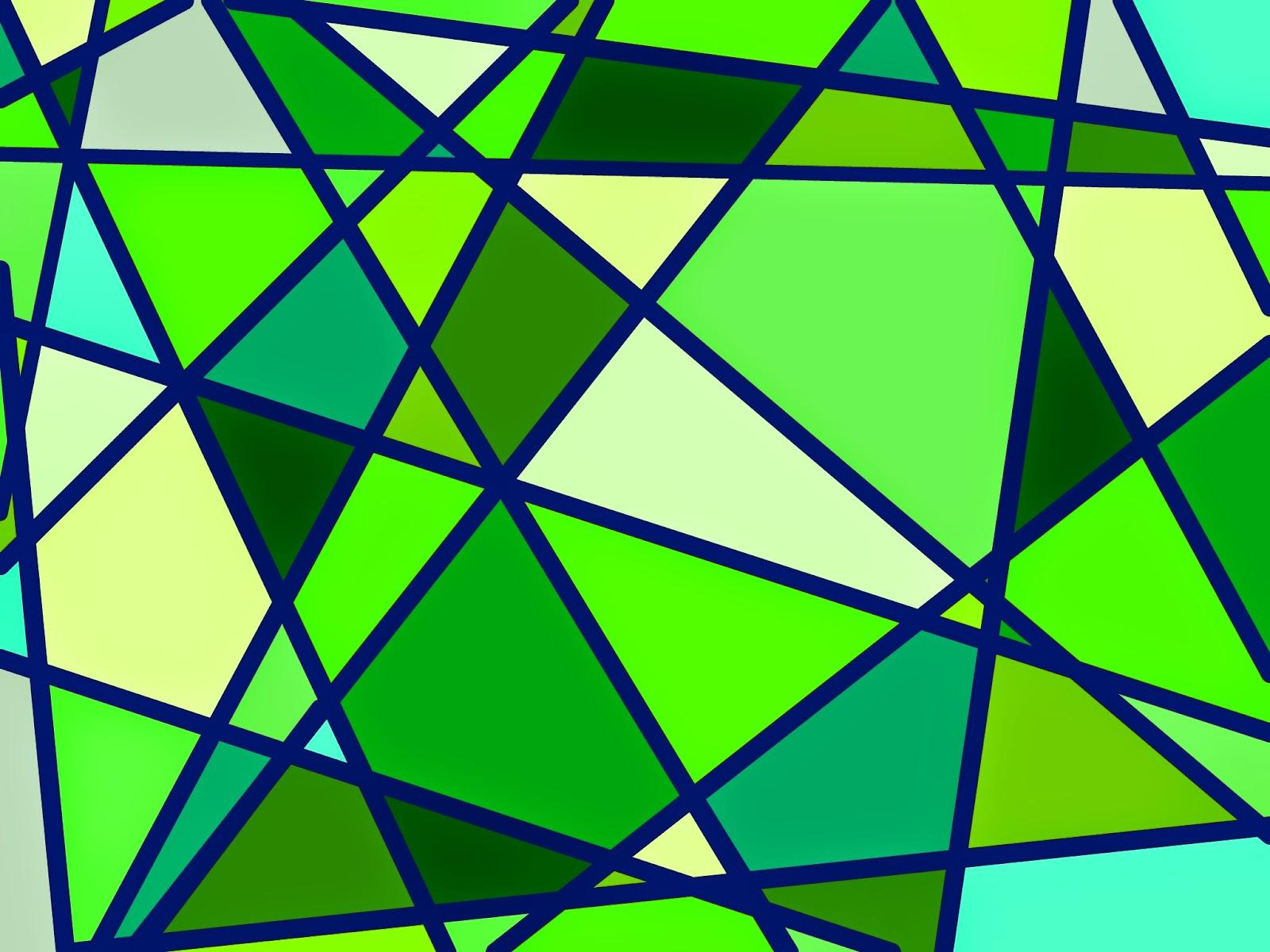 Muster Mosaik grün