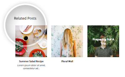 Customized related posts widget for Blogger