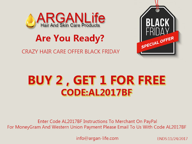 arganlife black friday 2017