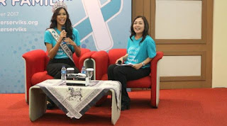 Cegah Kanker Serviks, Putri Indonesia 2017 Lakukan Vaksinasi HPV, Cegah Kanker Serviks, Putri Indonesia 2017 Lakukan Vaksinasi HPV, Cegah Kanker Serviks dengan Vaksin HPV | Koran Jakarta
