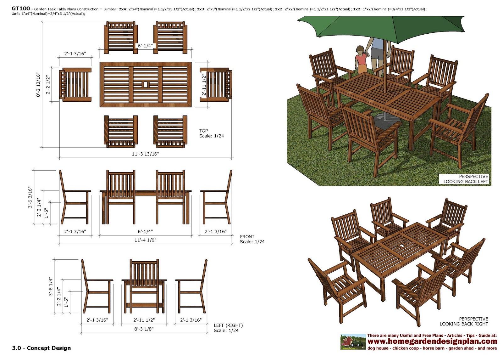 home garden plans Furniture Plans Arbor Swing Plans Garden Swing – Plans For Garden Table