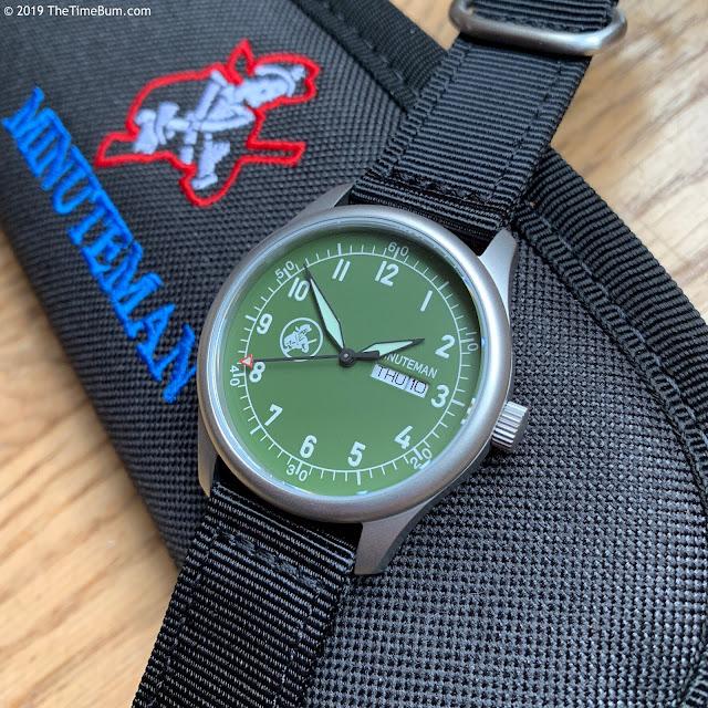 Minuteman A11 green
