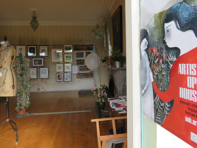 North End House Art In Ditchling 2018