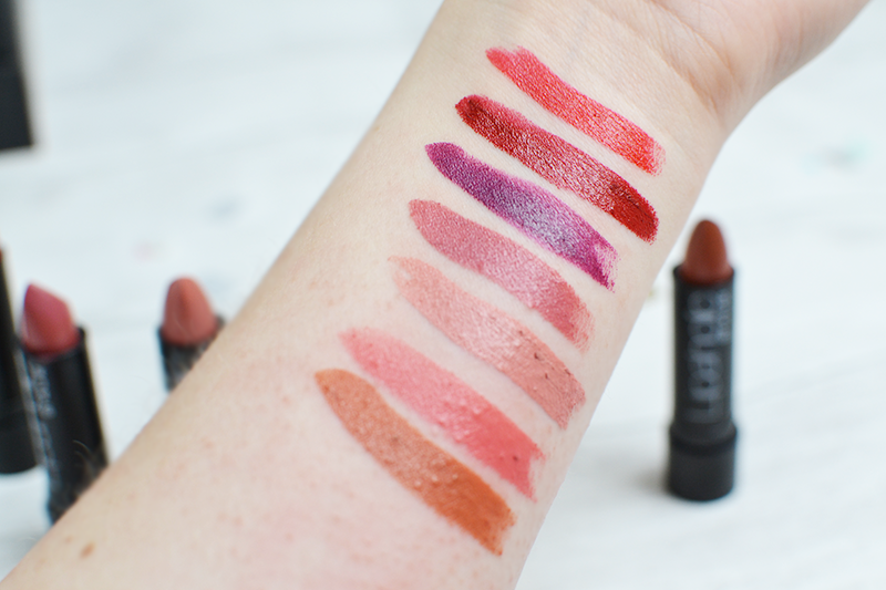 4U2 Lipaholic Collection Swatches UK Review | Colours and Carousels - Scottish Lifestyle, Beauty and Fashion blog