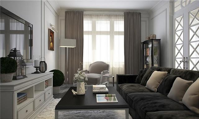 Mẫu thiết kế nội thất chung cư 115m2 đẹp hoàn hảo đến từng chi tiết - H1