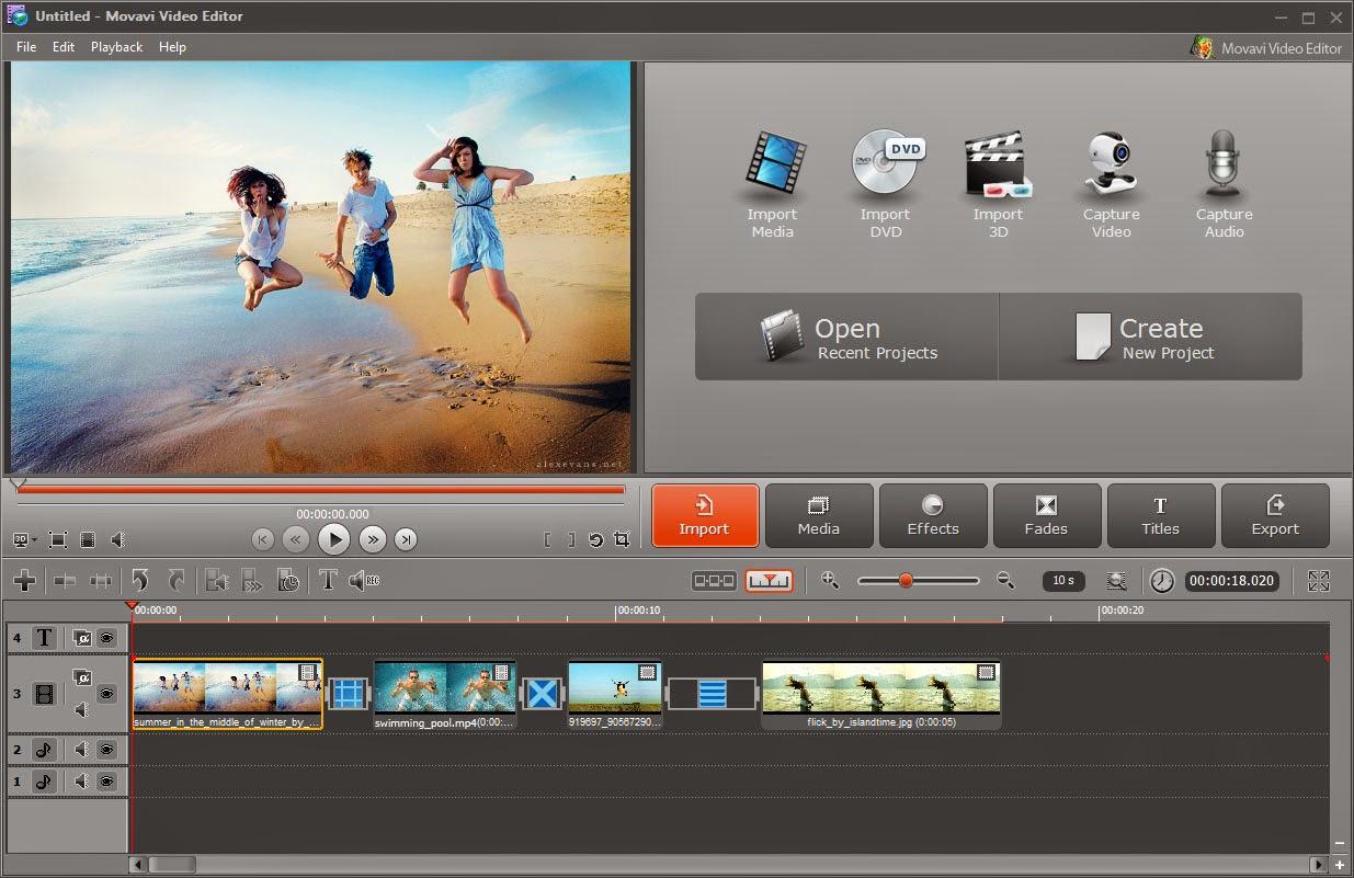 movavi video editor تحميل مجاني
