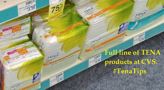 #TenaTips full line of TENA products at CVS #ad #CBias