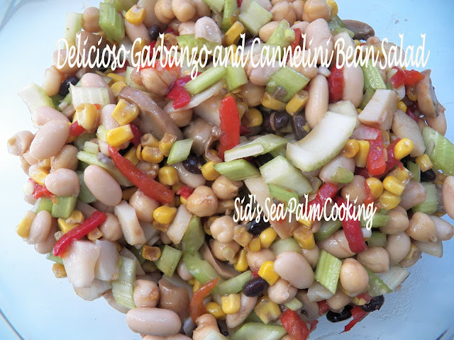 Chop Bean Salad
