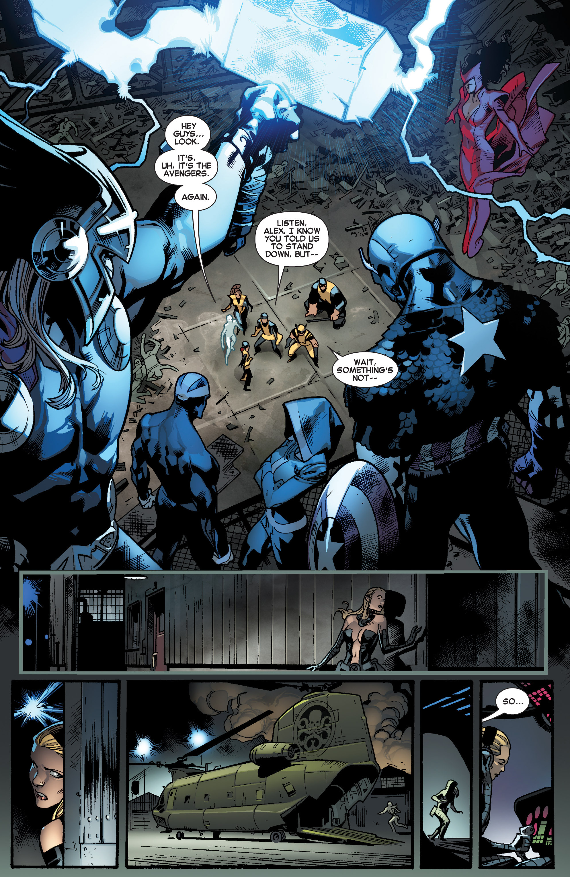 Read online All-New X-Men (2013) comic -  Issue # _Special - Out Of Their Depth - 81