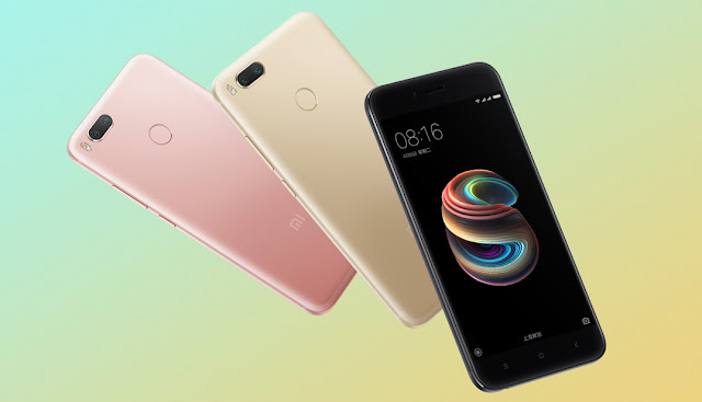 Check out Xiaomi Mi 5X Official Renders