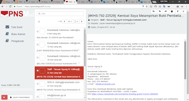 NiagaHoster atau RumahWeb yang rekomended buat beli domain atau hosting