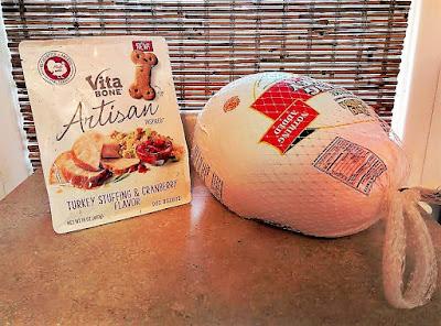 Vita Bone's new Artisan Inspired Turkey Stuffing & Cranberry Flavor dog biscuits