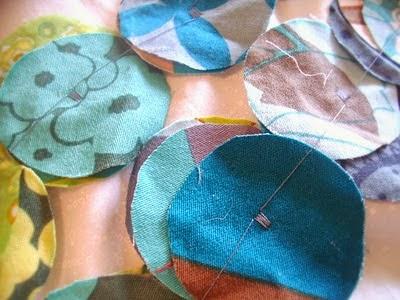 coser en el centro