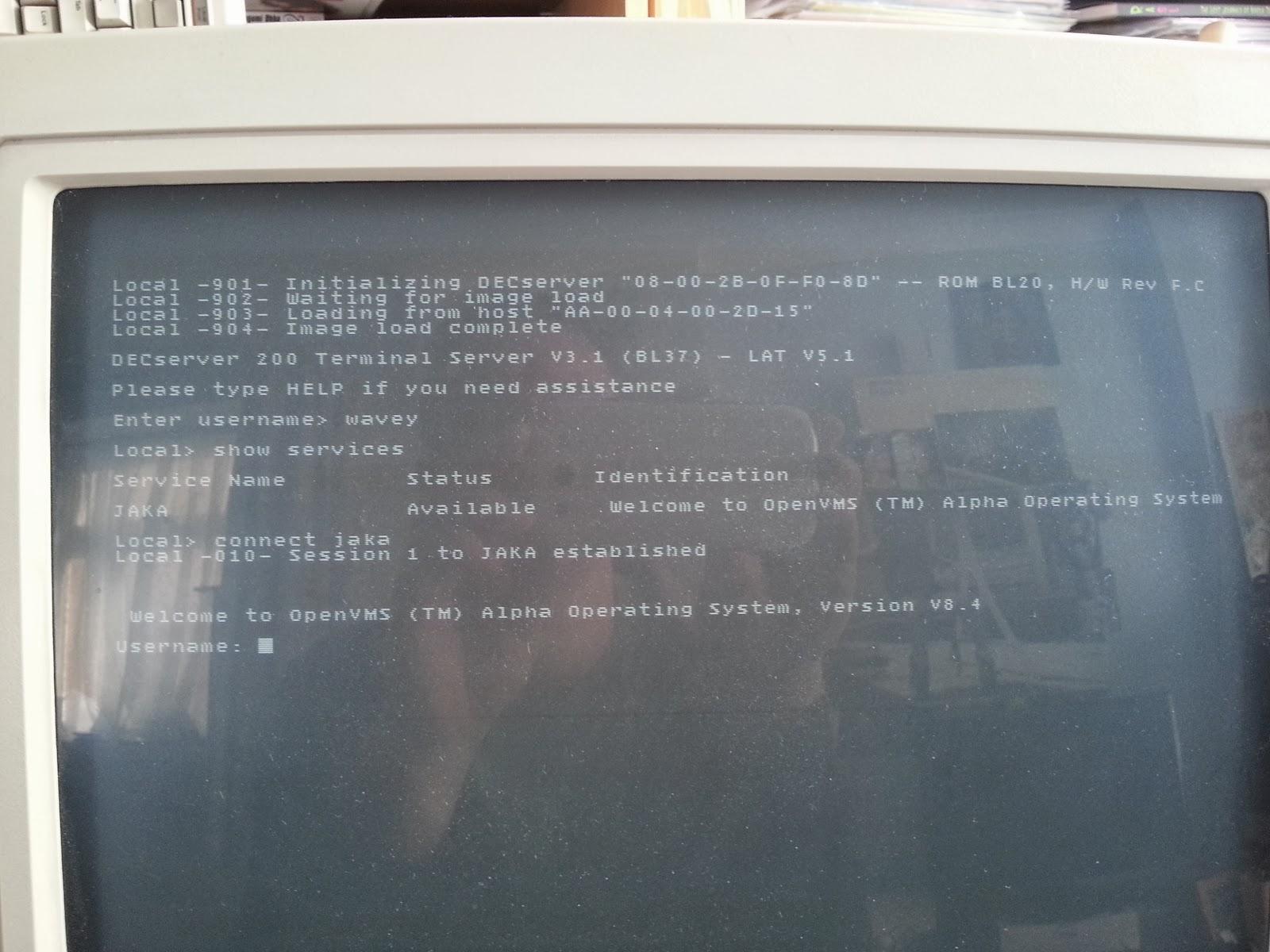 DECserver 200/MC Part Two   Wavey's Technical Blog