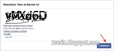 Cara Membuat Facebook - Captcha