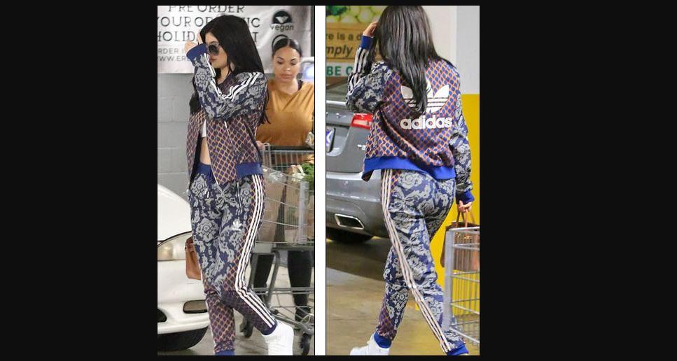 Kylie Jenner muestra abdominales