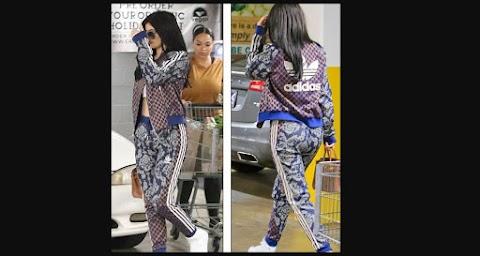 Kylie Jenner muestra abdominales en diminuto crop top