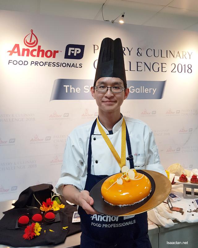 1st Prize: Gan Terk Yeong from Sofitel Kuala Lumpur Damansara
