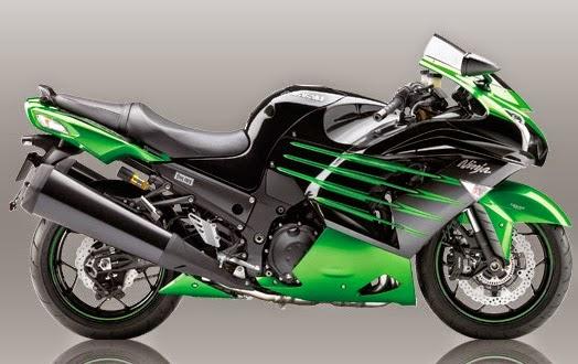 Motor Kawasaki Ninja ZX-14R Ohlins