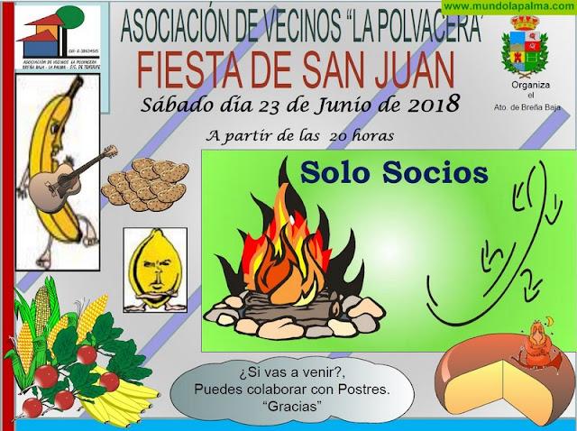 """LA POLVACERA: víspera de la """"Fiesta de San Juan"""""""