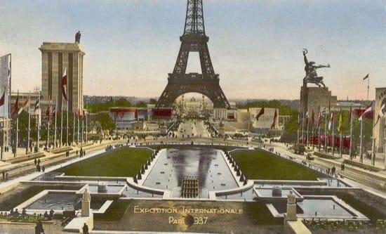 Pabellos de Rusia y Alemania enfrentados en París en 1937
