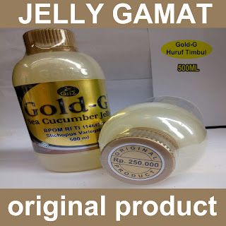 Jelly Gamat Gold G isi 500 ML