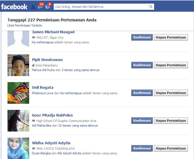 Cara Cepat Konfirmasi Pertemanan Di Facebook Dengan Auto Konfirm FB   Work 100%