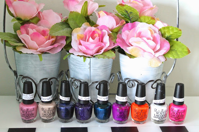 Mini OPI Nail Polishes