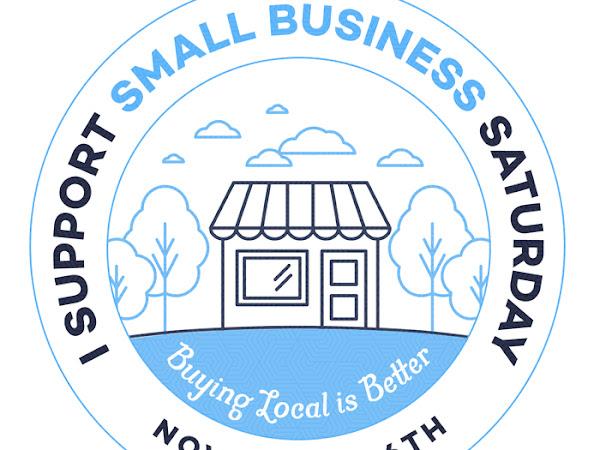 Take the pledge! Shop Small this Saturday!