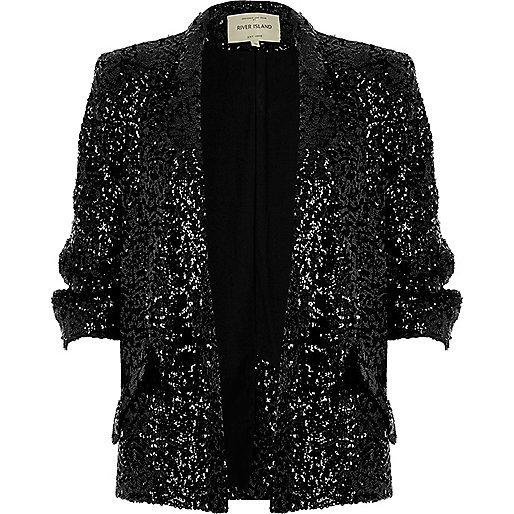 river island sequin jacket