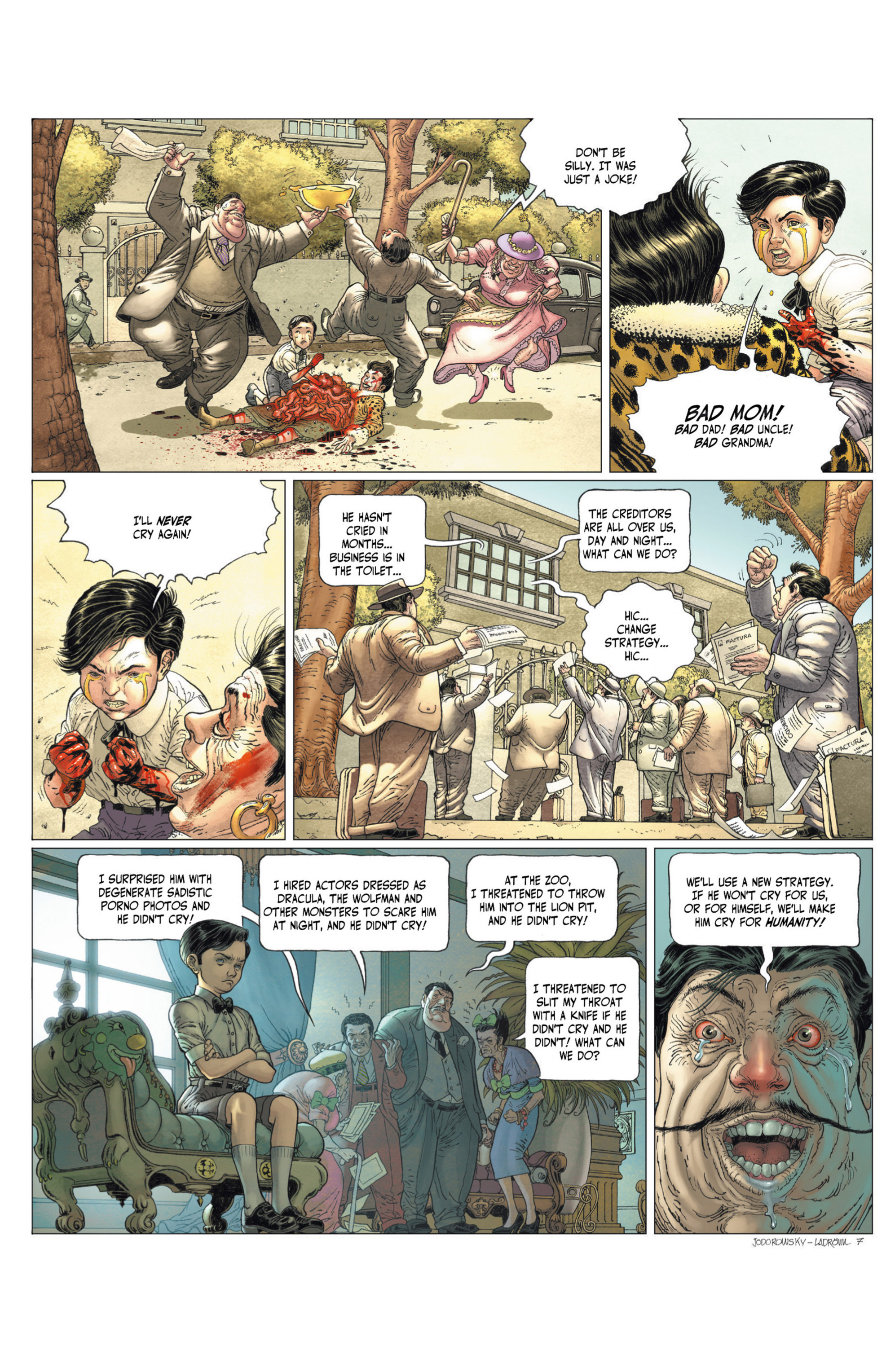 Read online Alejandro Jodorowsky's Screaming Planet comic -  Issue #2 - 68