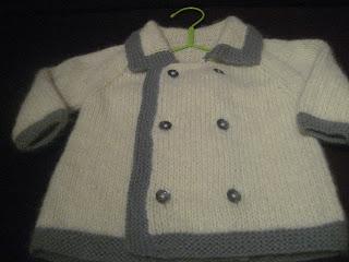 e897bb67647a Χρυσάνθης χειροποιήματα  Παιδικό ζακετάκι !! Knitted baby cardigan ...