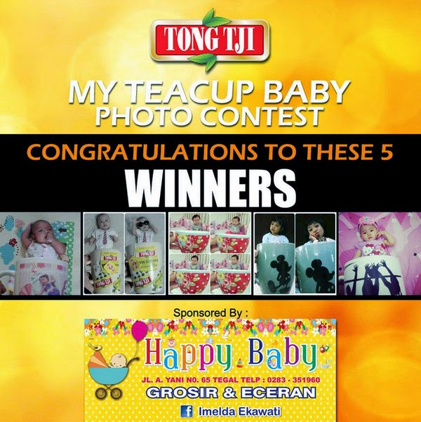 Pemenang My Teacup Baby Photo Contest