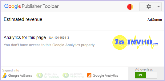 Google Publisher Toolbar Chrome