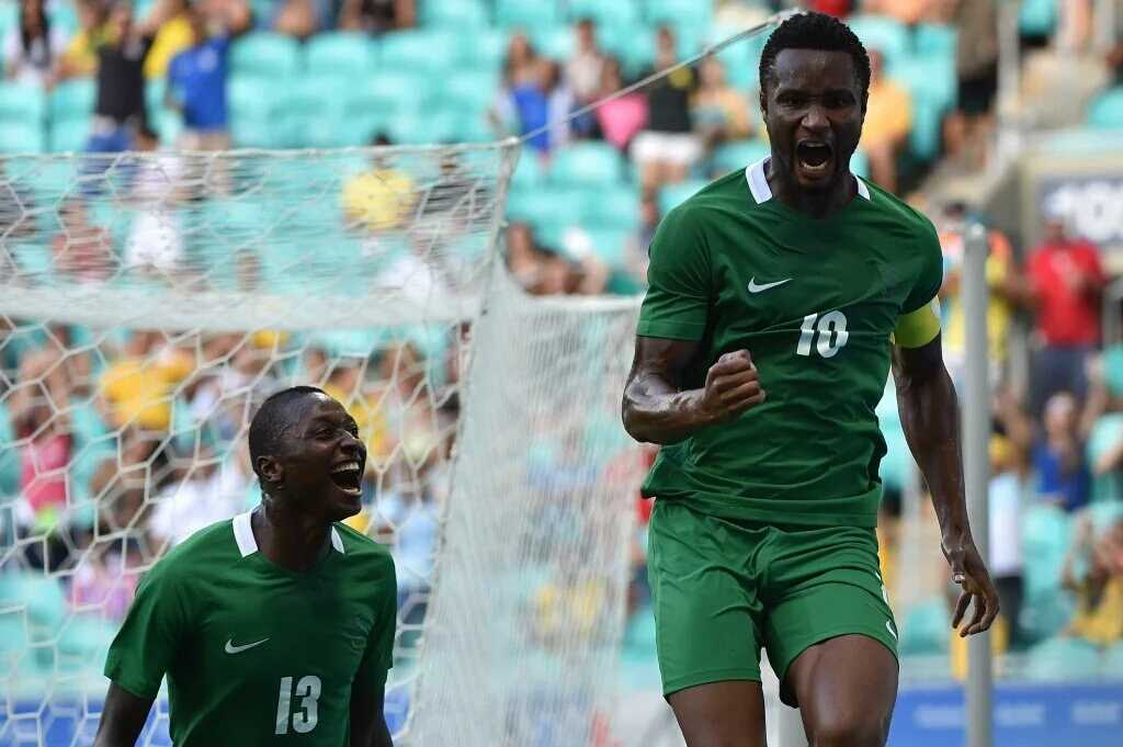 Team Nigeria Captain, John Obi Mikel