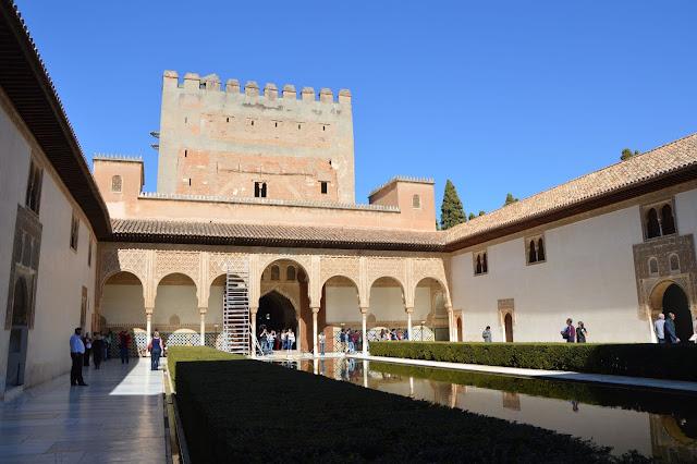 Granada Alhambra Pałac emira