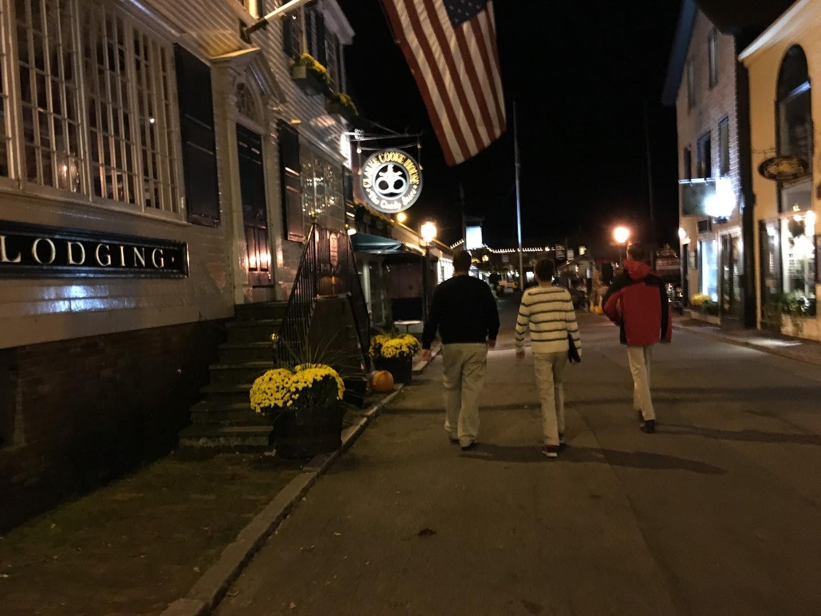 Newport Rhode Island with Boys the f Season