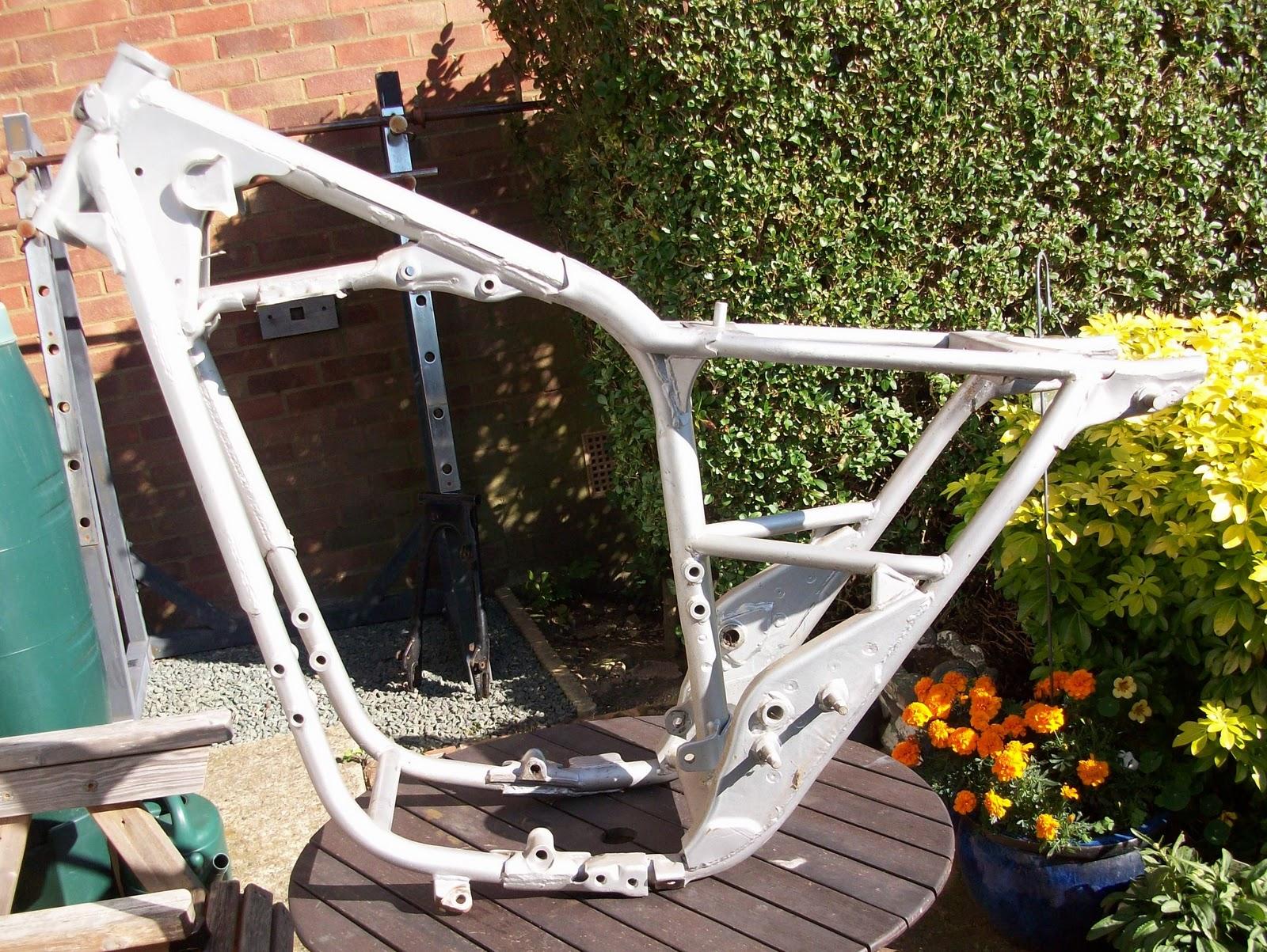 XS650 Bobber Build: Frame alterations