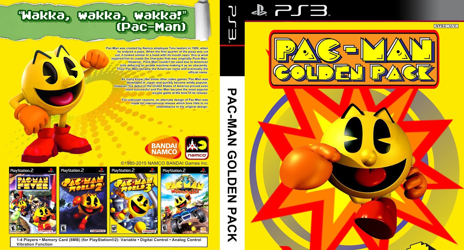 Pac Man World 3 Ps2