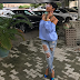 Photos: Tonto Dikeh Steps Out In Seriously Ripped Jeans