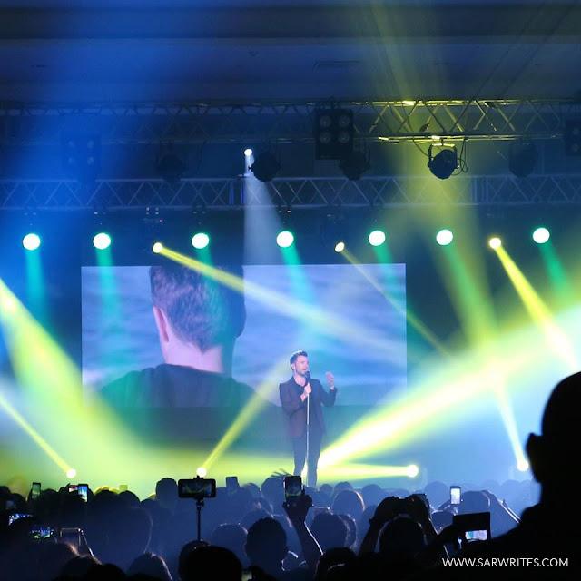 Shane Filan Live in Davao