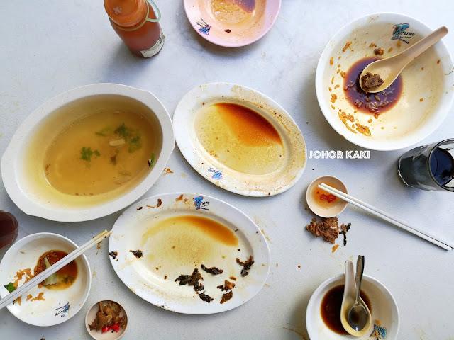 Hong Qin Duck Porridge, Fish Soup & Braised Pork Trotters 鸿勤鱼粥.鸭粥