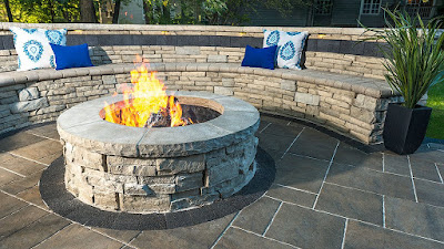 Rivercrest Fire Pit Unilock